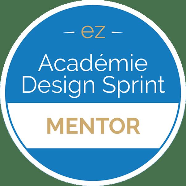 badge de l'Académie Design Sprint Experteez