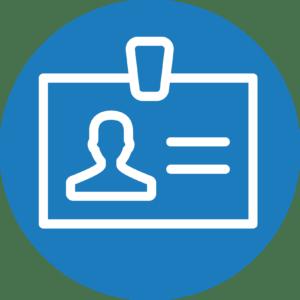 icône illustrant le profil et l'engagement des intervenants