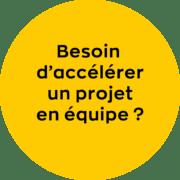 Visuel - Accélérer un projet en équipe