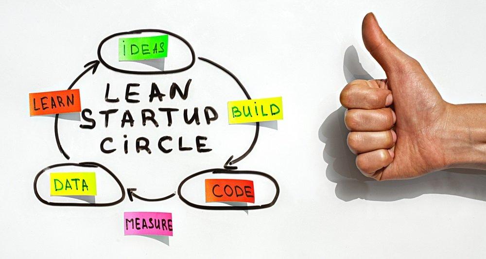 Illustration Formation Lean Startup