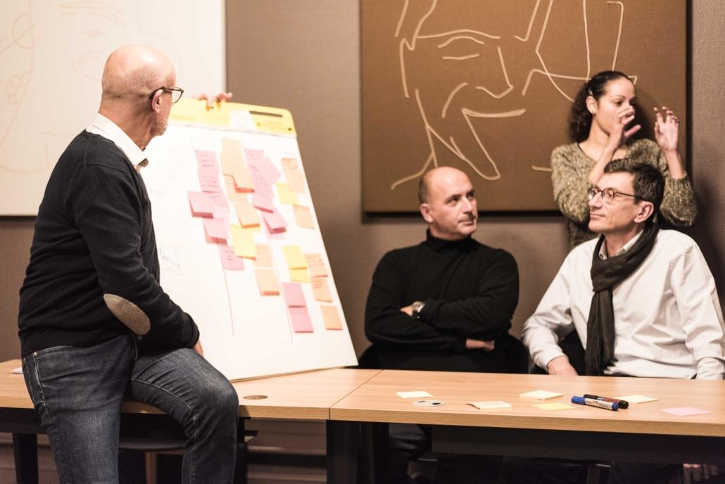 Photo en situation du module Stratégie et Planification