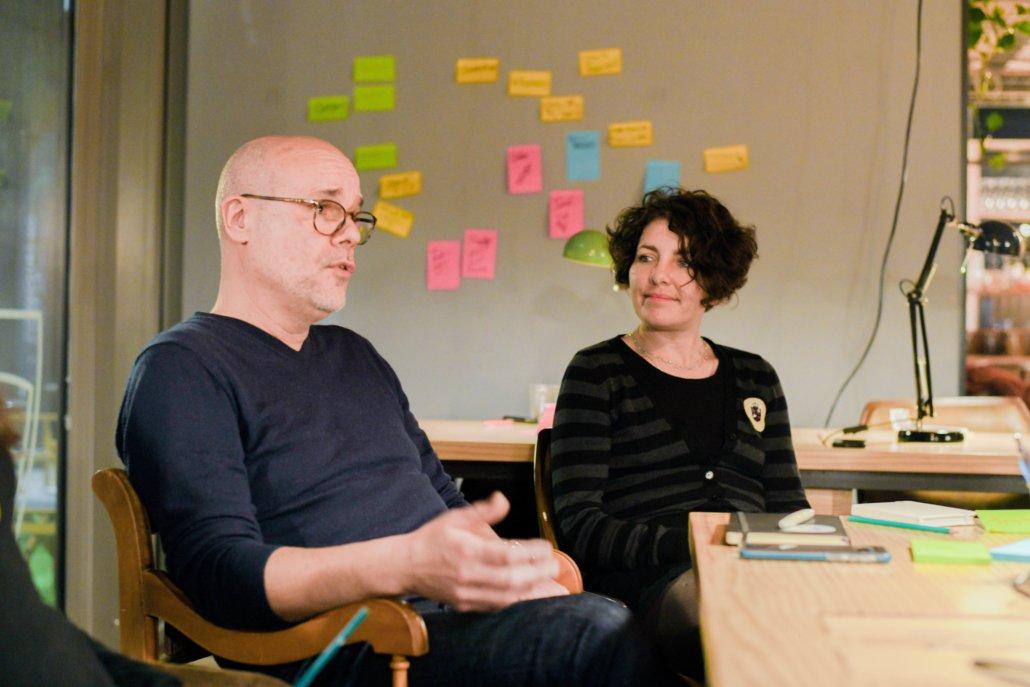 Photo illustrant l'atelier Intrapreneuriat et culture de l'innovation