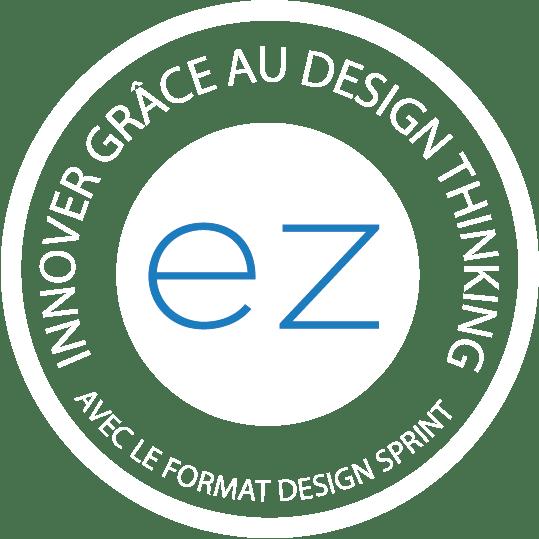 Tampon de certification : Formation Innover grâce au Design Thinking avec le format Design Sprint